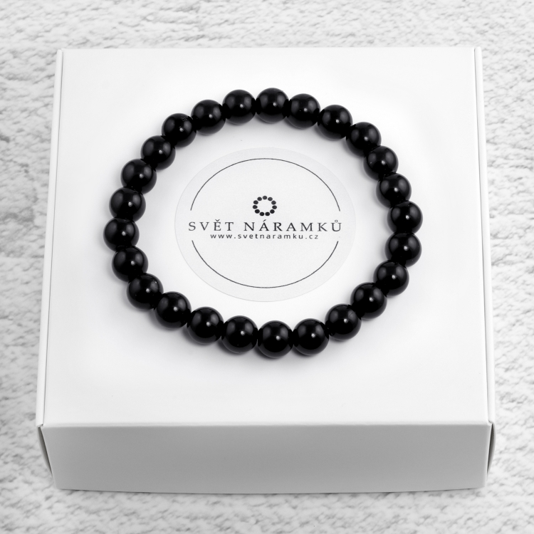 Náramek Buddha Black