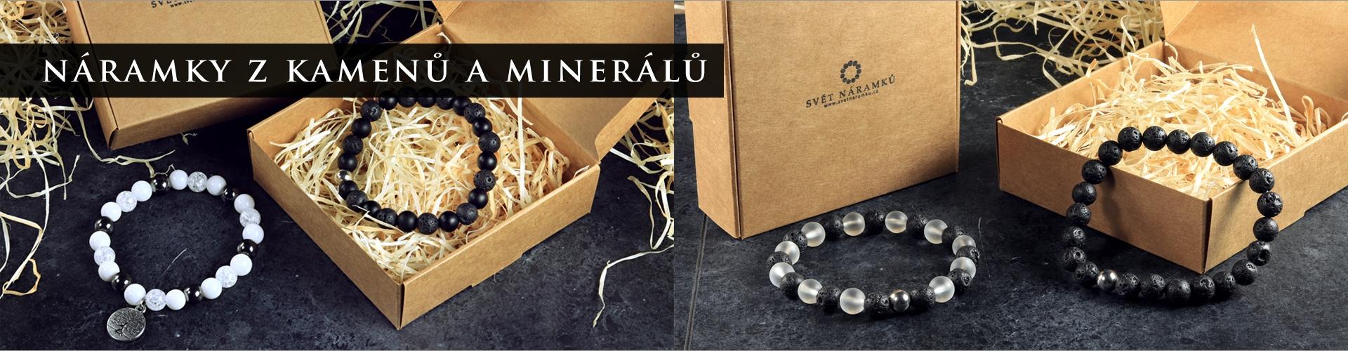 Náramky z minerálů